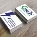Logo and Business cards design for Gtech Electrical Services.