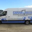 Carver & Beese logo and vehicle livery design.