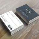 Business card design for The Kilpeck Inn.