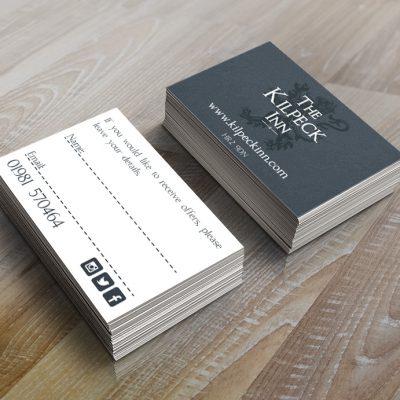 The Kilpeck Inn business cards