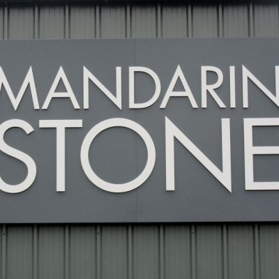 flat cut letters Monmouthshire, South Wales