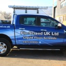 Livery design for Flo-Screed.