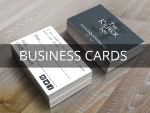 Business Cards, Monmouth, South Wales